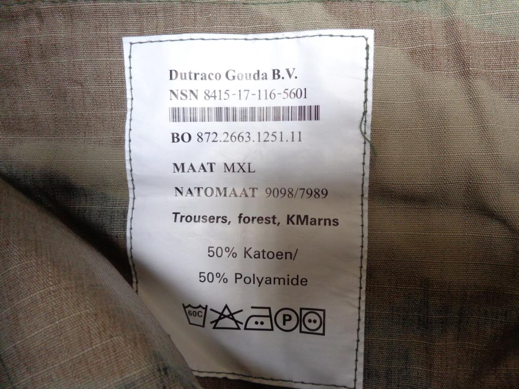 Dutch camo uniforms, newer versions from around 2008 onwards Dsc06715