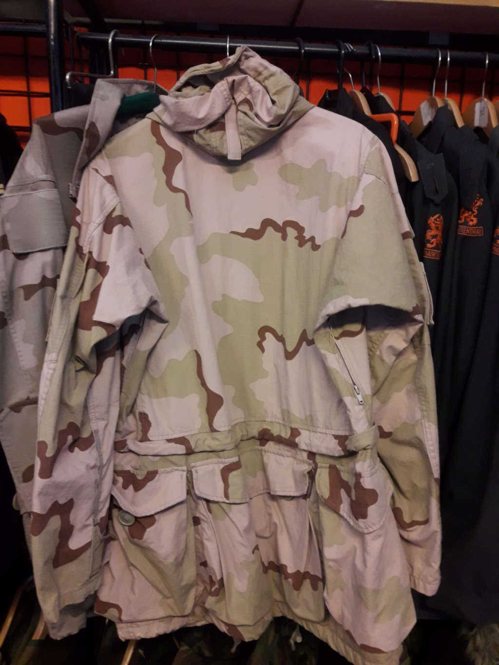 Dutch camo uniforms, newer versions from around 2008 onwards Smock_11