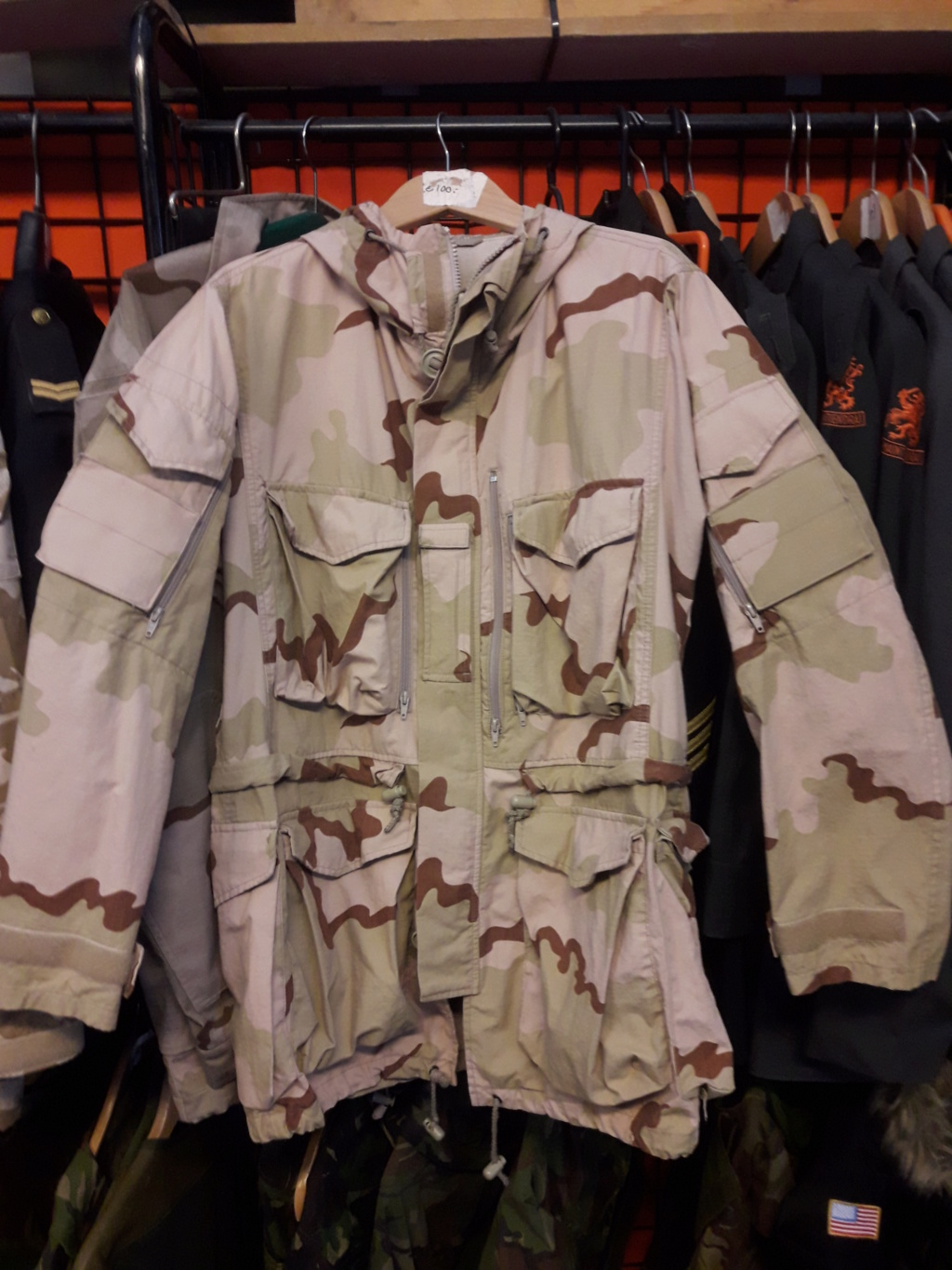 Dutch camo uniforms, newer versions from around 2008 onwards Smock_12