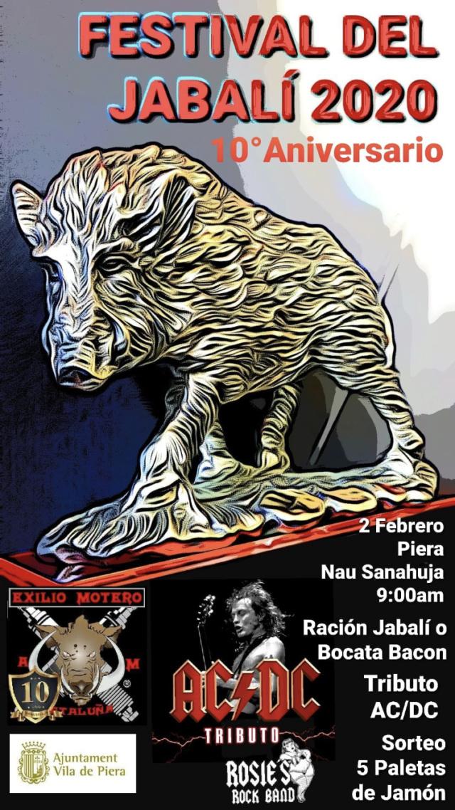 SALIDA (CAT) Festival del Jabalí 2020 en Piera 2 de Febrero. 1aa38c10