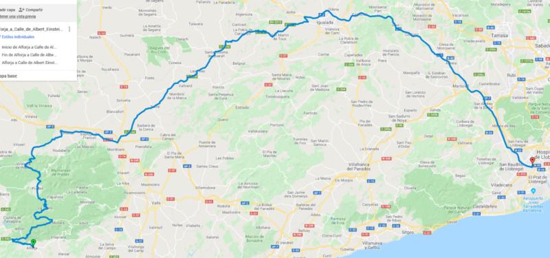 SALIDAS (CAT) Ruta de Domingo el próximo día 17 de Noviembre 2019. 1da72610