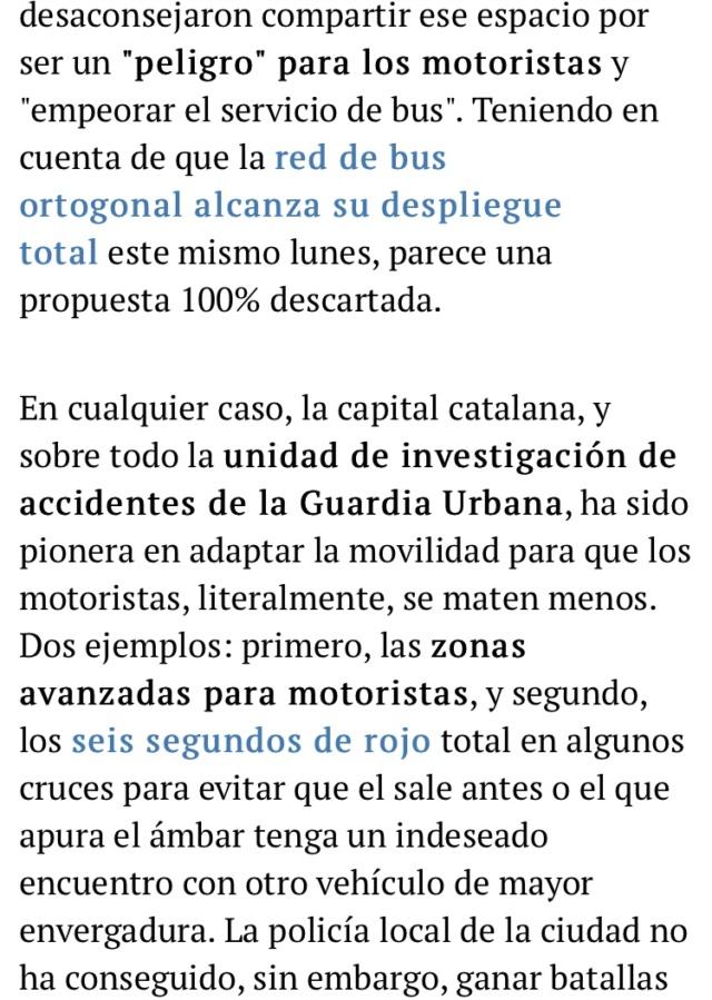 Manifestacion contra la prohibicion de motos en Barcelona  7eba0910
