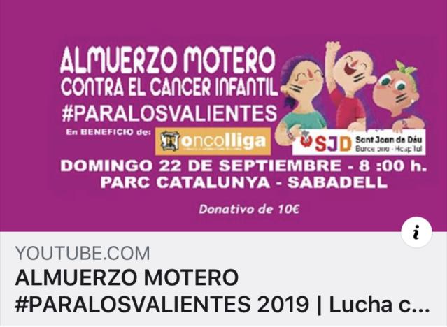 SALIDAS (CAT): Almuerzo Solidario en Sabadell #perelsvalents 22.09.2019 89022e10