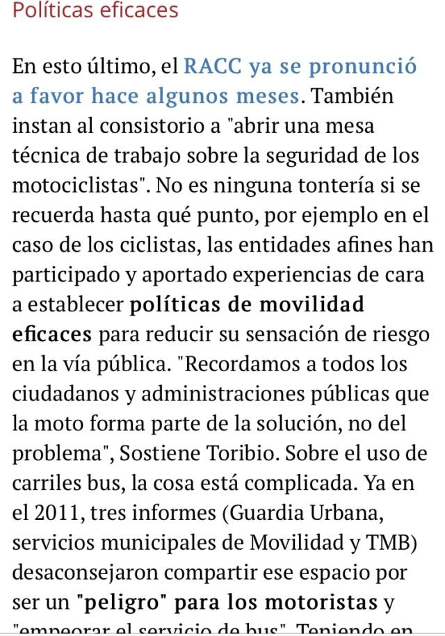 Manifestacion contra la prohibicion de motos en Barcelona  B7267a10