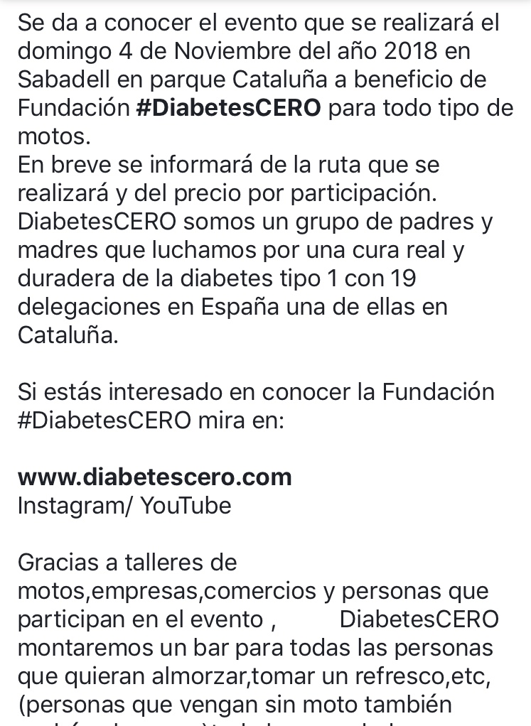 1er Almuerzo motero solidario contra la Diabetes B9d0f110