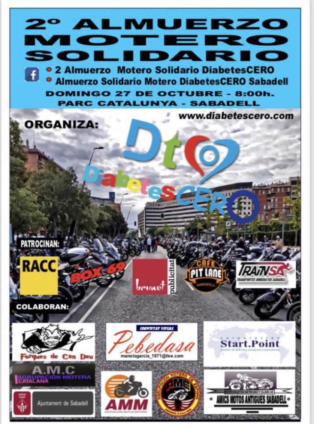 SALIDAS (CAT): II Almuerzo solidario Diabetes 0. Sabadell 27.10.2019 Dc720310