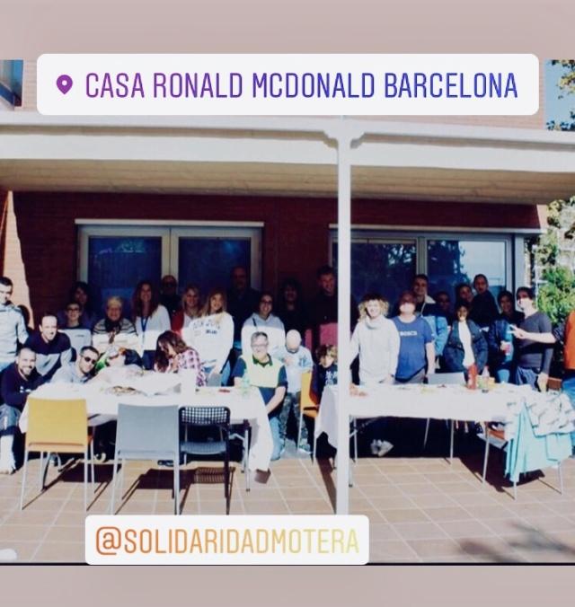 SOLIDARIA (CAT): Casa Ronald Mcdonals. 10.11.2019  Fc49d610
