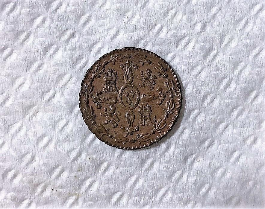 2 Maravedis 1828. Fernando VII. Segovia  Img_5411
