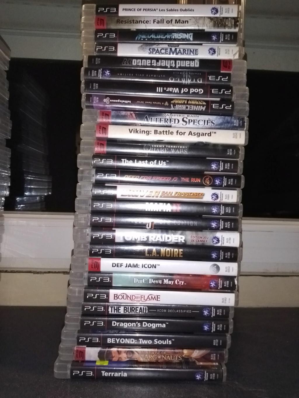 Grosse estimation avant vente 2 PS3 +138 jeux et accessoires (photo) 313