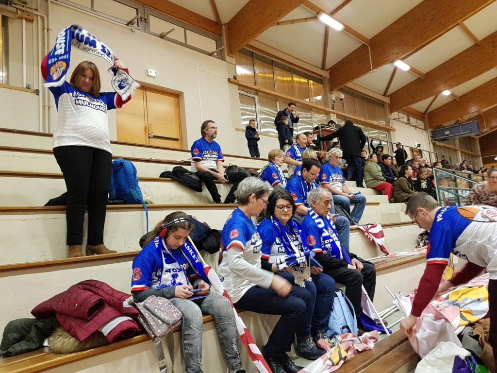 [J.19] Amicale Laïque Lons-le-Saunier (3ème) - Mulhouse Pfastatt BA (1er) : 53-67 20190312