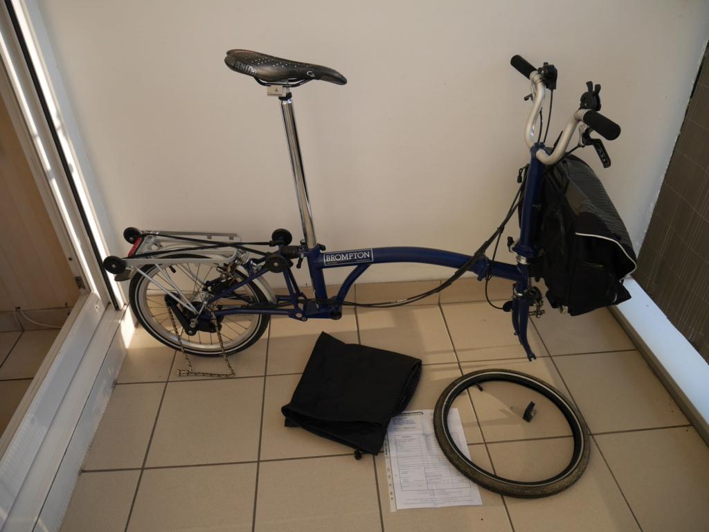 [VENDU] Vends Brompton M6R Bleu : de nouveau en vente P1040011