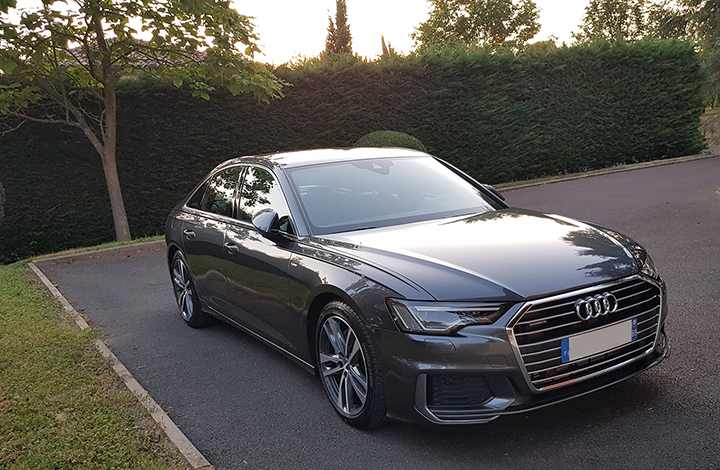 A6 Ambition Luxe 3.0 TDI Quattro, 272 ch,  S tronic,  Noir mythic  - Page 4 20190711