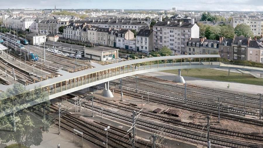 Angers. Cette passerelle qui enjambera les rails 8b7a9c10