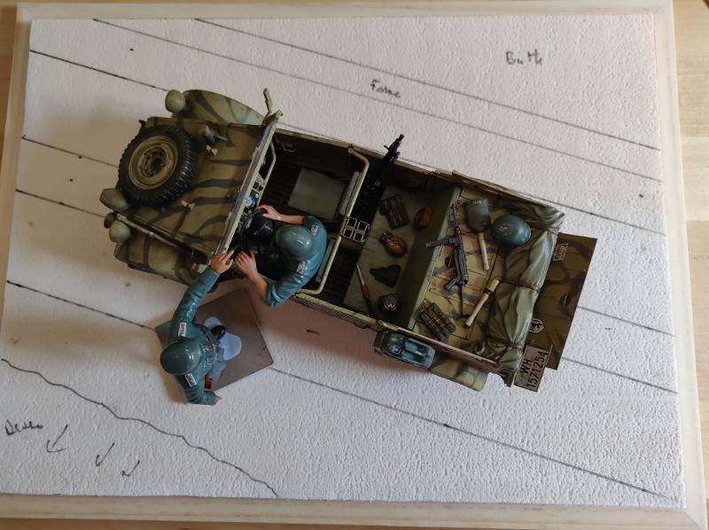 Kübelwagen type 82 1/16 Tamiya - Page 2 Img_2011