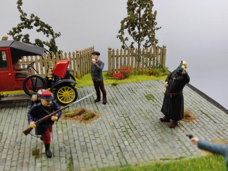 Diorama : Galiéni à la rescousse de l'armée Française 6 et 7 septembre 1914 Img_2170