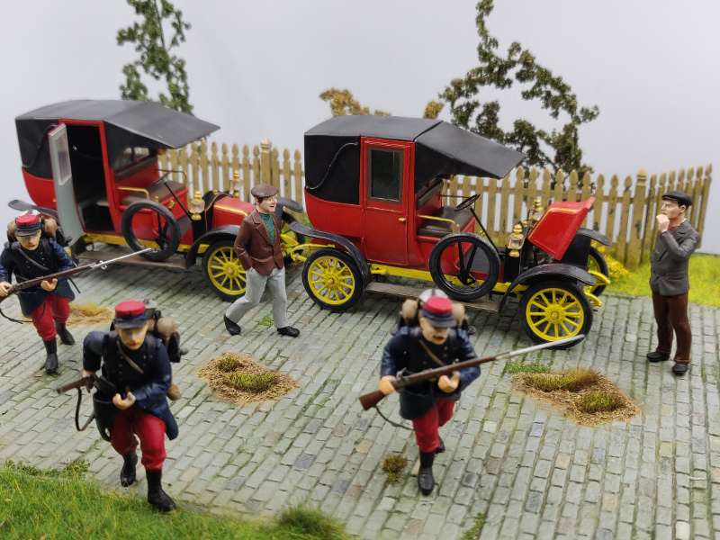 Diorama : Galiéni à la rescousse de l'armée Française 6 et 7 septembre 1914 Img_2171