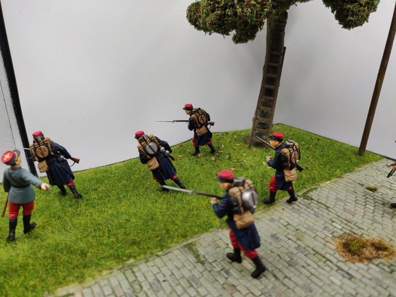 Diorama : Galiéni à la rescousse de l'armée Française 6 et 7 septembre 1914 Img_2184