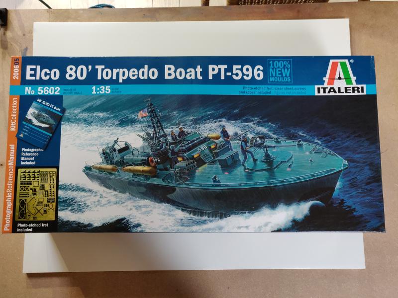 Torpédo boat PT-596 1/35 Italeri Img_2187