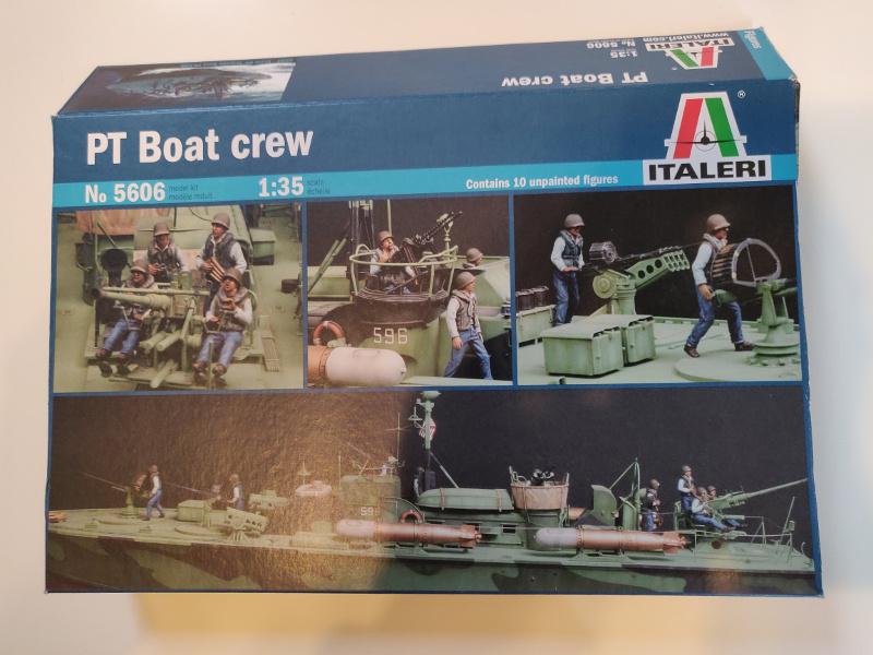 Torpédo boat PT-596 1/35 Italeri Img_2198