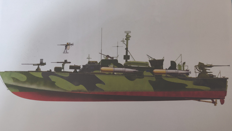 Torpédo boat PT-596 1/35 Italeri Img_2200