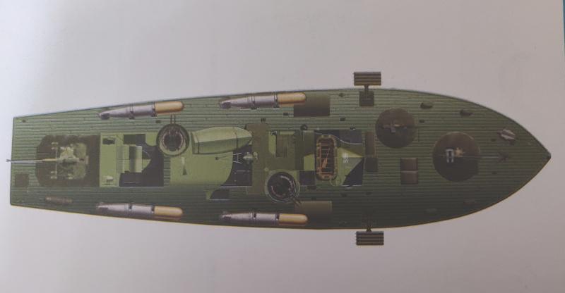 Torpédo boat PT-596 1/35 Italeri Img_2201