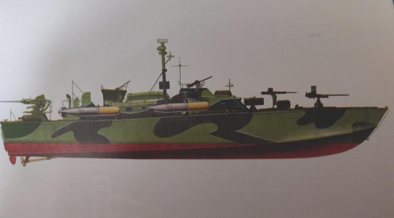 Torpédo boat PT-596 1/35 Italeri Img_2202