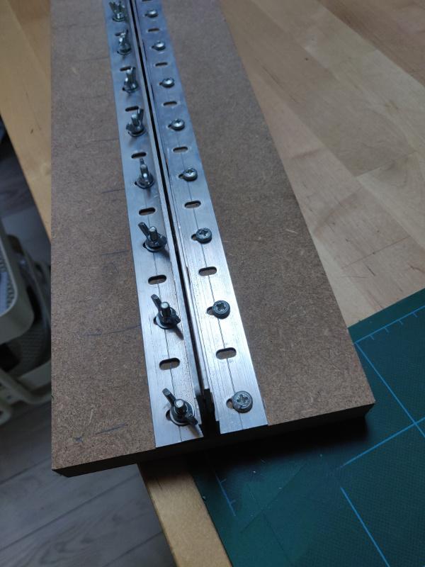 Tutoriel et dispositif d'effilage virures bois pour bordage coque par Thimarie Img_2445