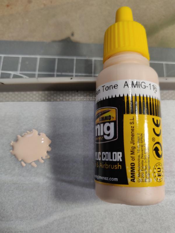 Tutoriel sur la peinture aux acryliques des figurines par ThiMarie Img_2527