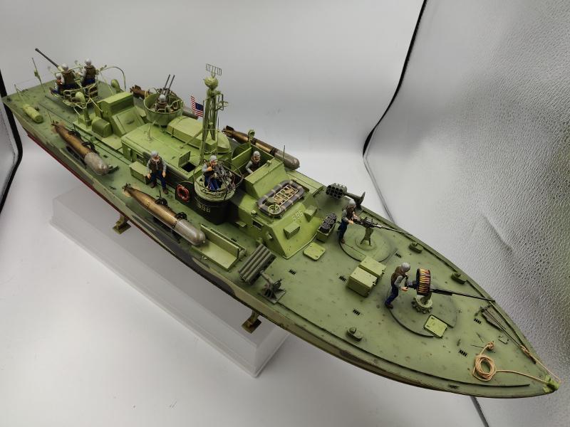 Torpédo boat PT 596au 1/35 terminé Img_2555