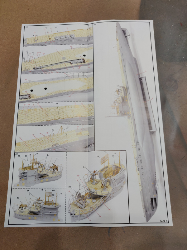 Revue de boîte U-Boat VII C/41 Revell 1/72 édition Platinium Img_3399