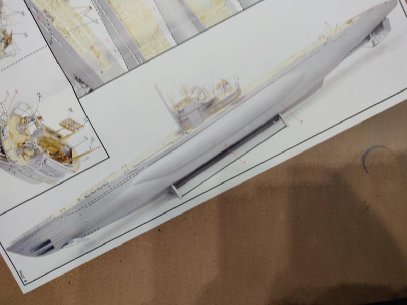 Revue de boîte U-Boat VII C/41 Revell 1/72 édition Platinium Img_3400