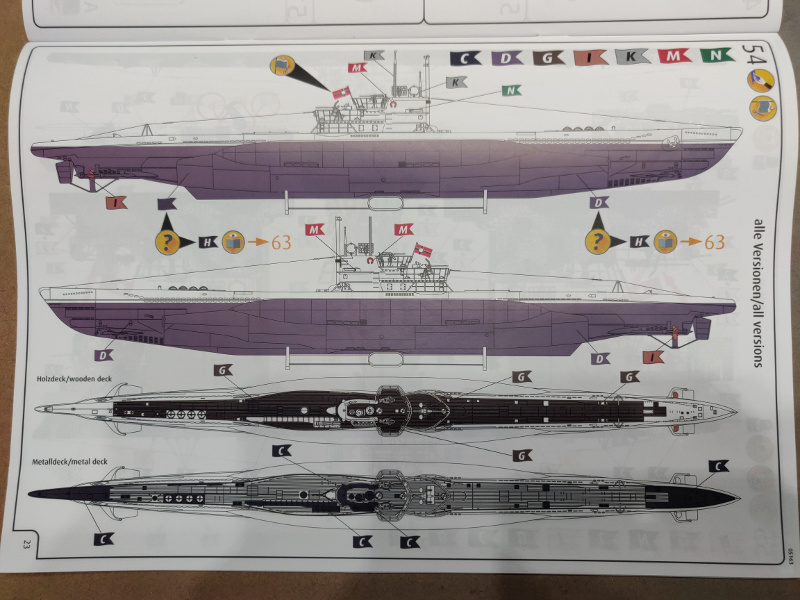 Revue de boîte U-Boat VII C/41 Revell 1/72 édition Platinium Img_3401