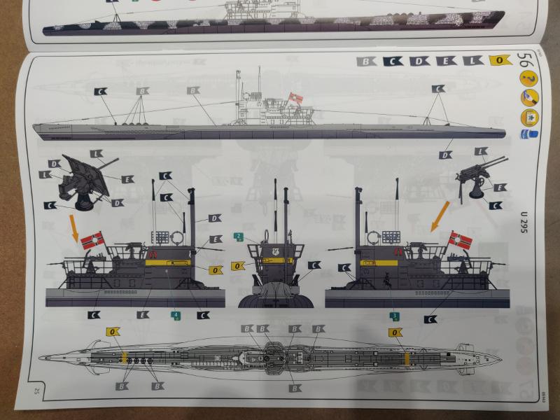 Revue de boîte U-Boat VII C/41 Revell 1/72 édition Platinium Img_3403