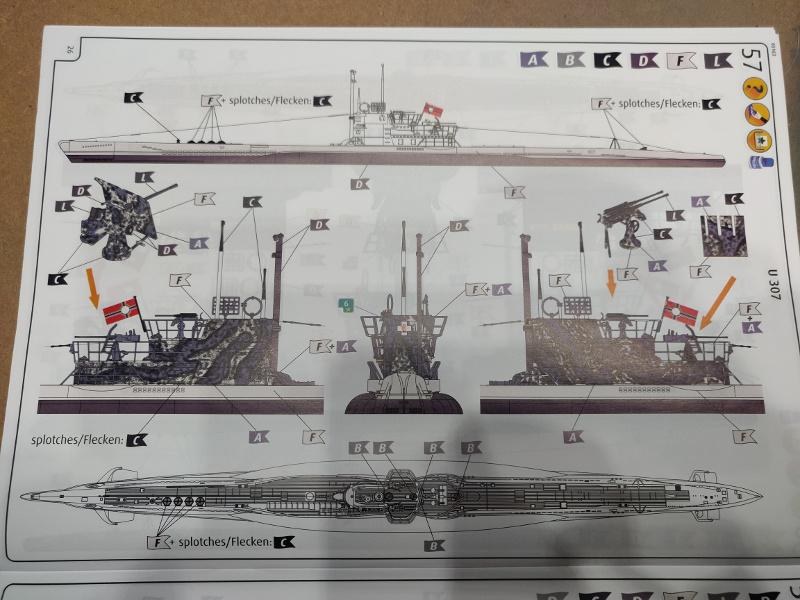 Revue de boîte U-Boat VII C/41 Revell 1/72 édition Platinium Img_3404