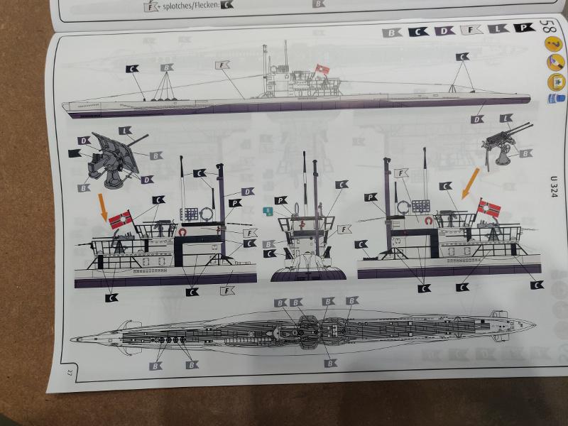 Revue de boîte U-Boat VII C/41 Revell 1/72 édition Platinium Img_3405