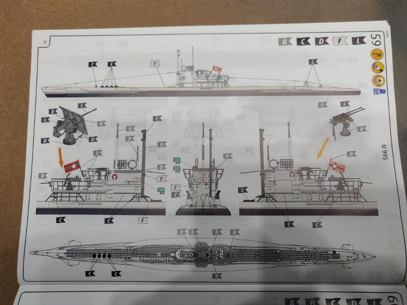 Revue de boîte U-Boat VII C/41 Revell 1/72 édition Platinium Img_3406