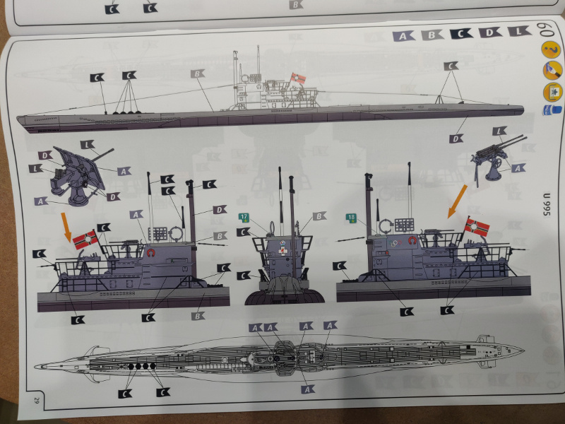 Revue de boîte U-Boat VII C/41 Revell 1/72 édition Platinium Img_3407