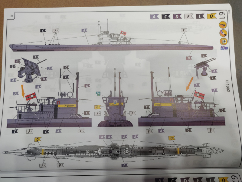 Revue de boîte U-Boat VII C/41 Revell 1/72 édition Platinium Img_3408