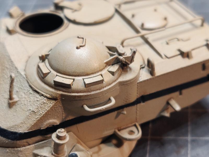 AMX 13/75 opération Mousquetaire Suez 1956 Takom 1/35 + Diorama - Page 4 Img_3743