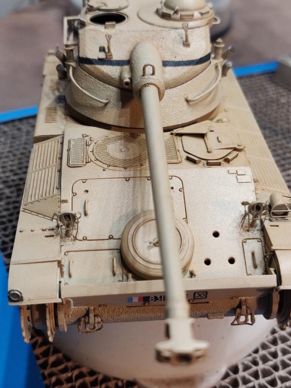 AMX 13/75 opération Mousquetaire Suez 1956 Takom 1/35 + Diorama - Page 4 Img_3747