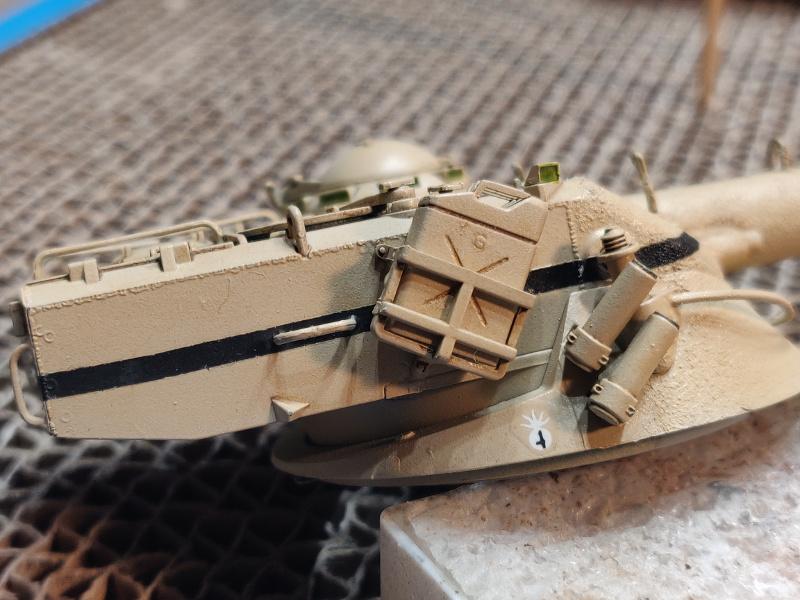 AMX 13/75 opération Mousquetaire Suez 1956 Takom 1/35 + Diorama - Page 4 Img_3764
