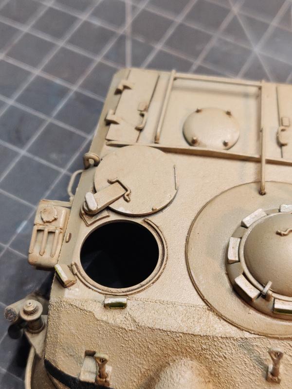 AMX 13/75 opération Mousquetaire Suez 1956 Takom 1/35 + Diorama - Page 4 Img_3767