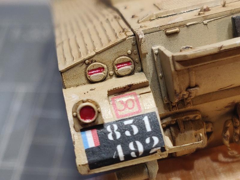 AMX 13/75 opération Mousquetaire Suez 1956 Takom 1/35 + Diorama - Page 4 Img_3789