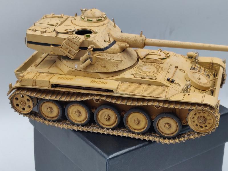 AMX 13/75 opération Mousquetaire Suez 1956 Takom 1/35 + Diorama - Page 6 Img_4076