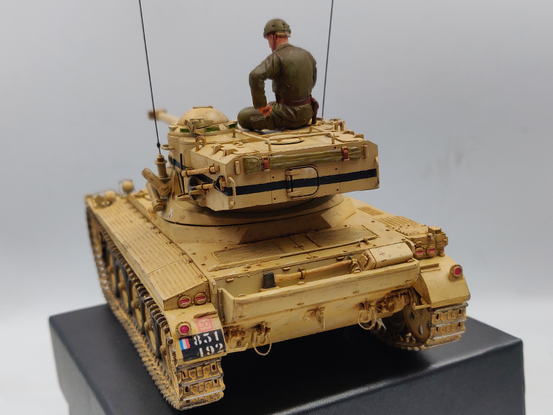 AMX 13/75 opération Mousquetaire Suez 1956 Takom 1/35 + Diorama - Page 6 Img_4083