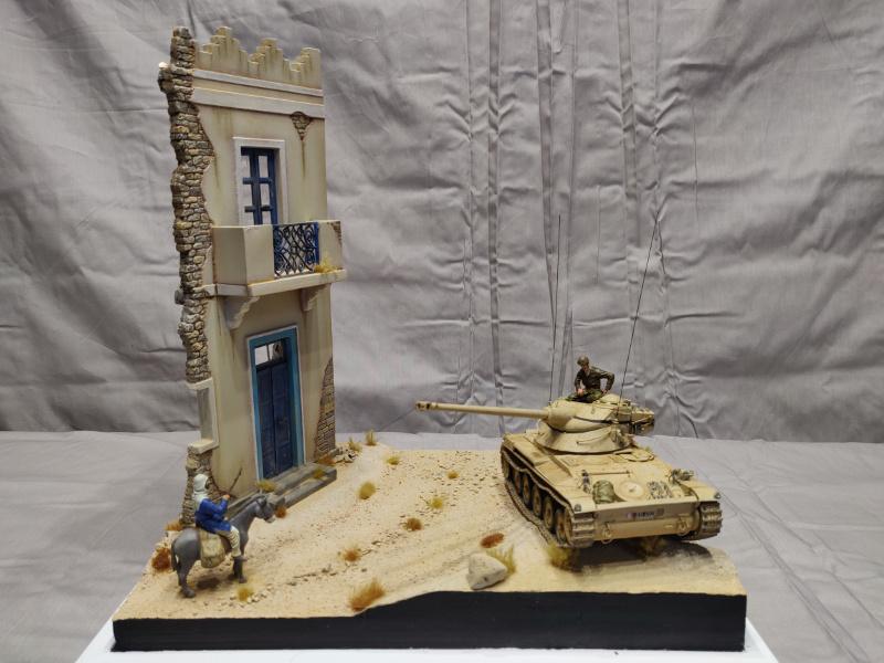 AMX 13/75 opération Mousquetaire Suez 1956 Takom 1/35 + Diorama Terminé Img_4220