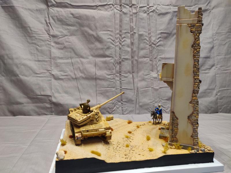 AMX 13/75 opération Mousquetaire Suez 1956 Takom 1/35 + Diorama Terminé Img_4222