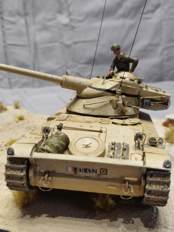 AMX 13/75 opération Mousquetaire Suez 1956 Takom 1/35 + Diorama Terminé Img_4225