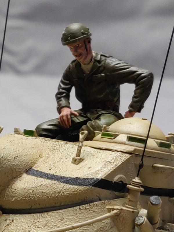 AMX 13/75 opération Mousquetaire Suez 1956 Takom 1/35 + Diorama Terminé Img_4229