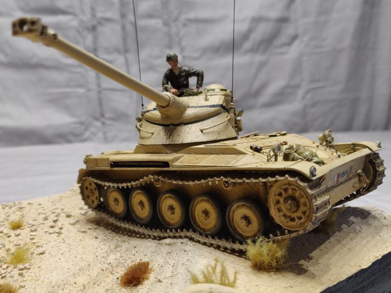 AMX 13/75 opération Mousquetaire Suez 1956 Takom 1/35 + Diorama Terminé Img_4230